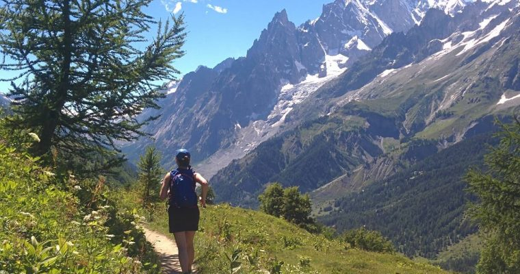 Le Flow sur les balcons du Mont Blanc